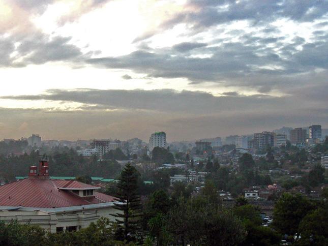 Addis Ababa skyline