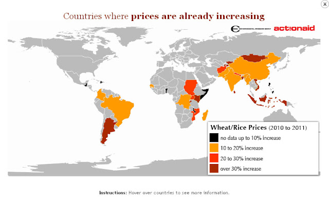 if youve taken a trip to the supermarket lately or scanned the headlines you may have noticed something food prices are on the rise