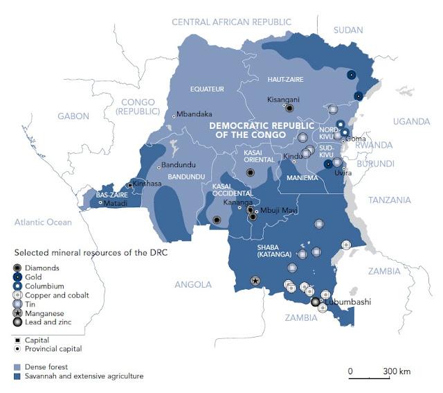 Conflict Minerals Map Conflict Minerals Map