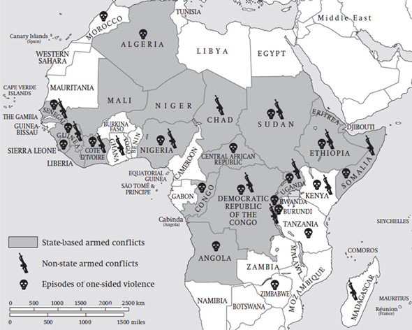 Book preview: in 'war and conflict in africa', gwu scholar