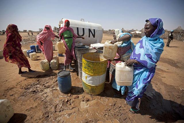 The Walk to Water in Conflict-Affected Areas