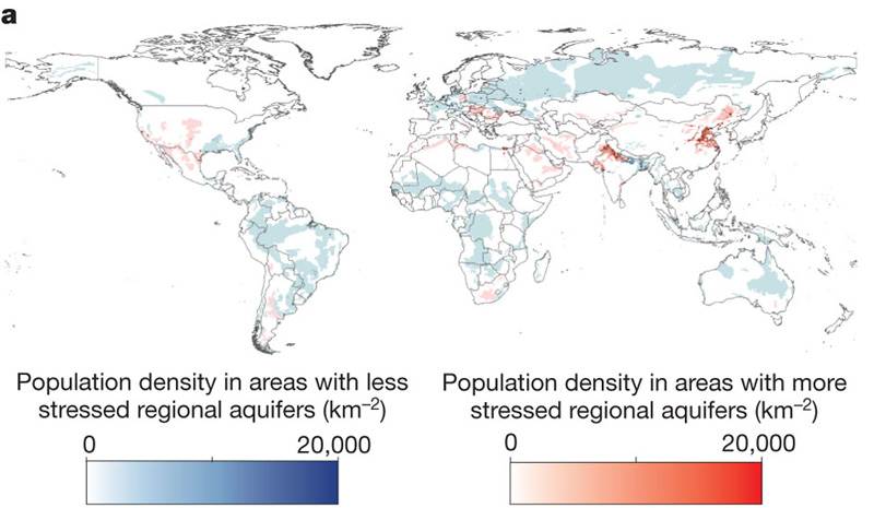 Stress Levels of Major Global Aquifers Revealed by Groundwater ...