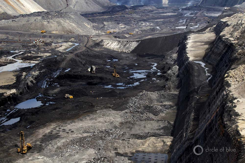 Asia's largest open-pit coal mine, Gevra