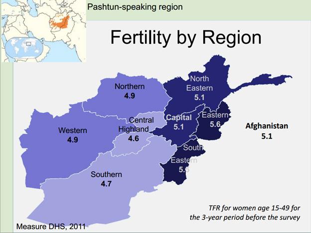 Afghanistan regional TFR (Cincotta)