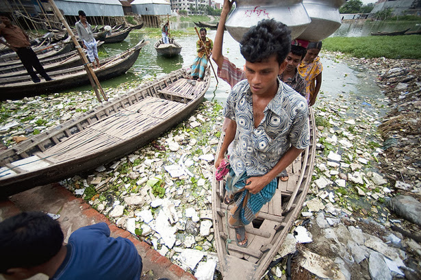 Dhaka-boats