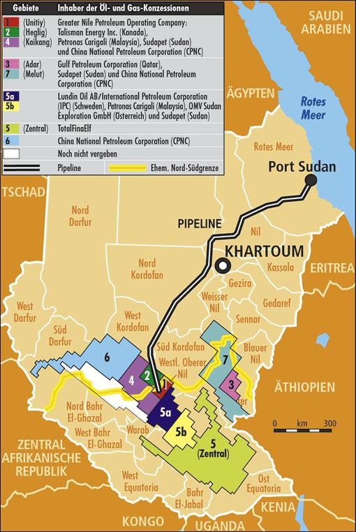 Sudan_Oil_Map