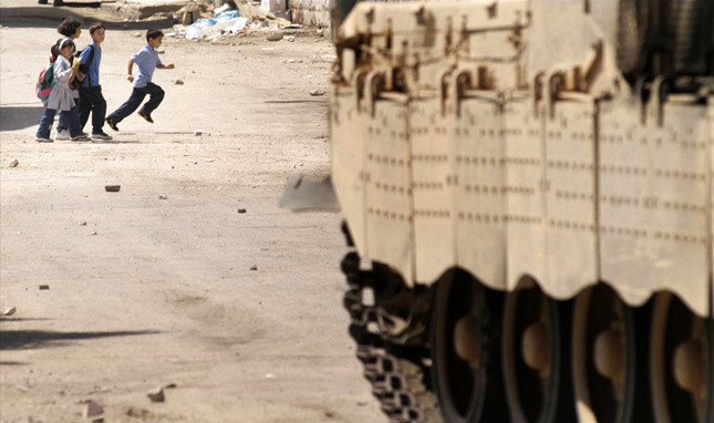 GAZA'S YOUTH  IN THE CROSSFIRE