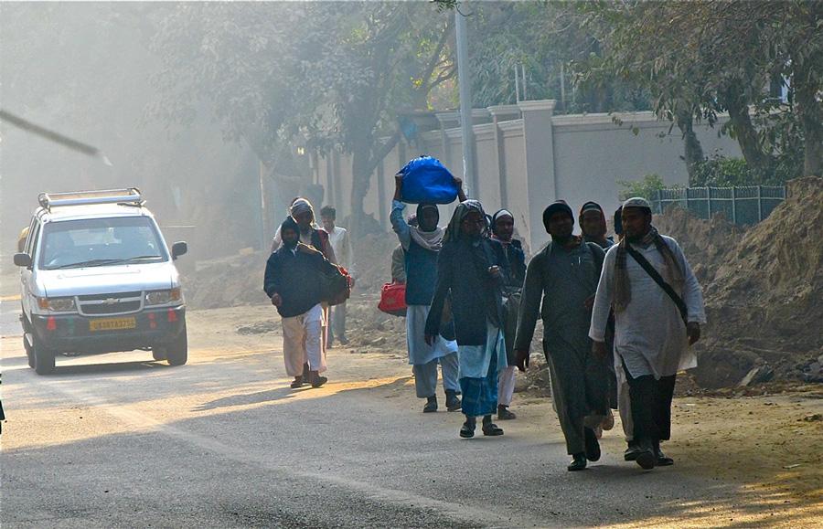 Delhi workers