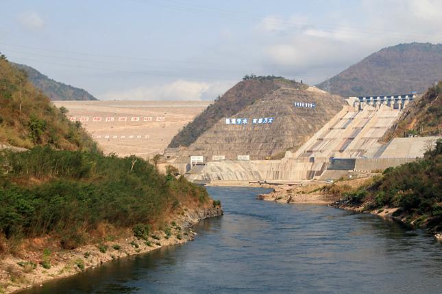 Mekong-dam