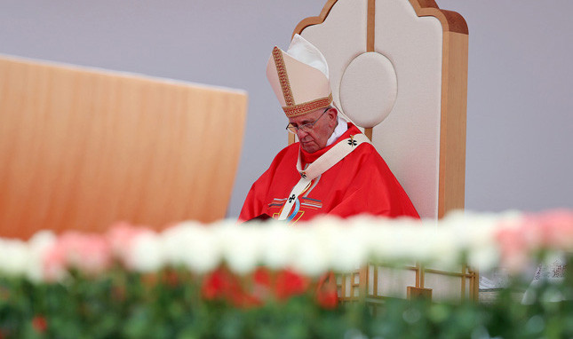 FRANCIS CALLS FOR INTEGRATION (JUST NOT REPRODUCTIVE HEALTH)