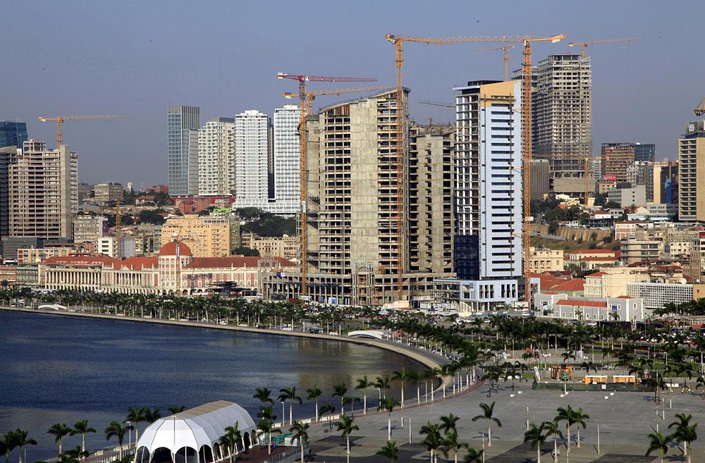 A general view Luanda, Angola's capital