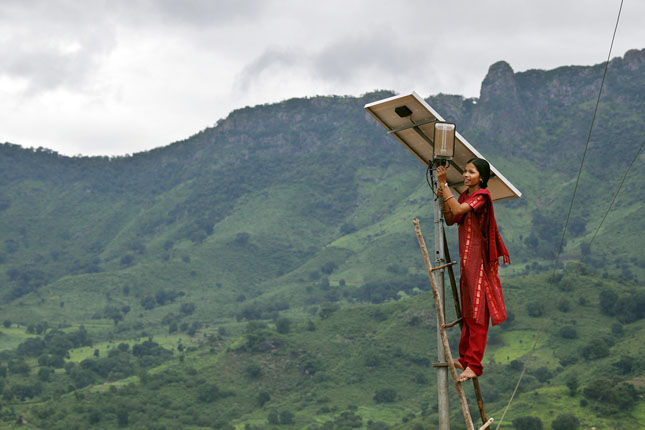 distributed solar_India