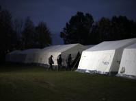 refugee camp Germany