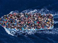 migrant fishing boat