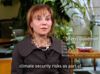 Sherri Goodman: Incorporate Climate Risks into Diplomacy, Development, and Defense