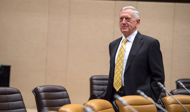 MATTIS, THE MILITARY, AND CLIMATE CHANGE