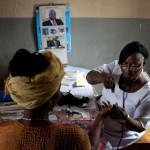 Sierra Leone midwife