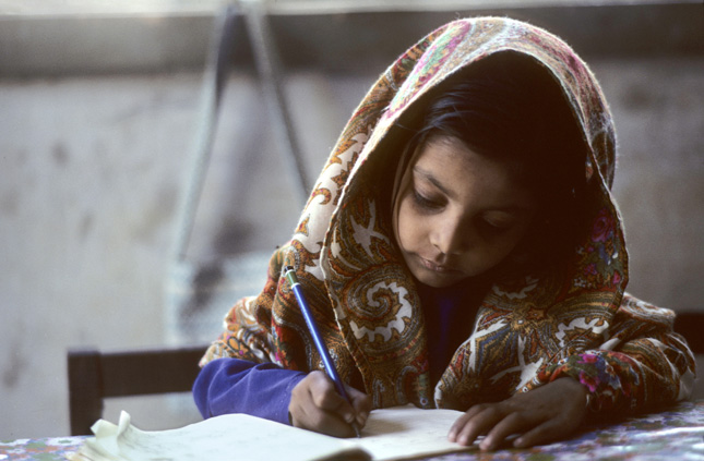 Pakistani-School-Girl
