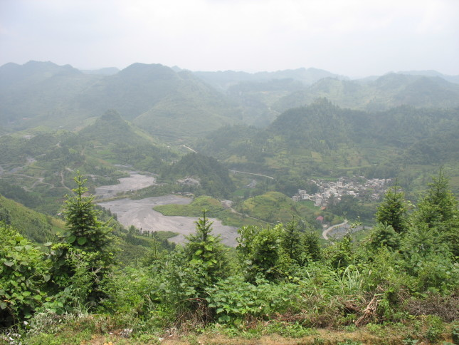 Tailing pond for lead and zinc mine, Qiancun, Hunan (2010) Courtesy of Anna Lora-Wainwright