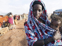 Somalia-Woman-Displaced