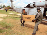 USAID-Helicopter-AID-Delive