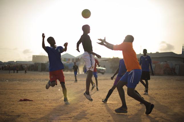 Mogadishu-Soccer