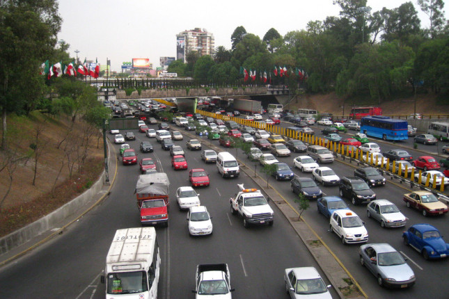 Mexico-City-Traffic