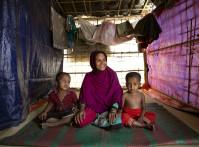 Rohingya woman coxs bazaar
