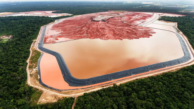 Bauxite waste Barcarena