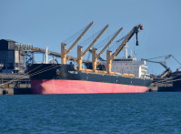 Coal Ship South Africa