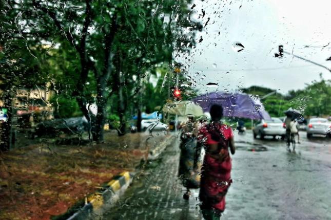 Mumbai Rain Storm
