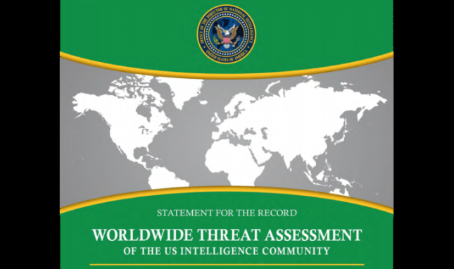 U.S. Intelligence Community Recognizes Climate Change in Worldwide Threat Assessment
