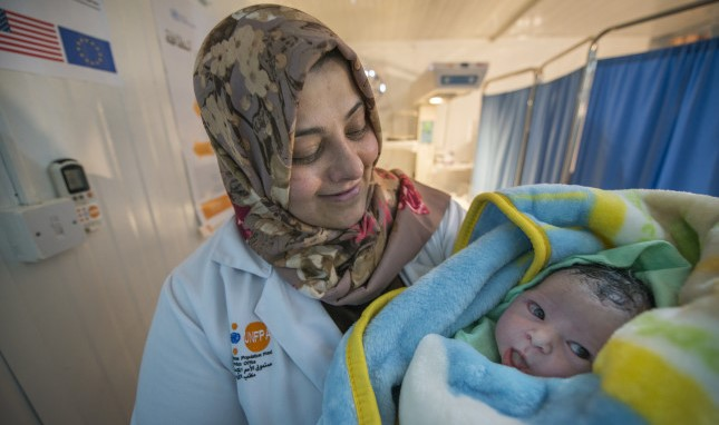 Where Life Begins: Reducing Risky Births in a Refugee Camp