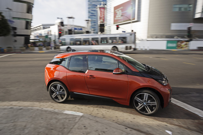 2014 BMW All-Electric i3 Press Drive.