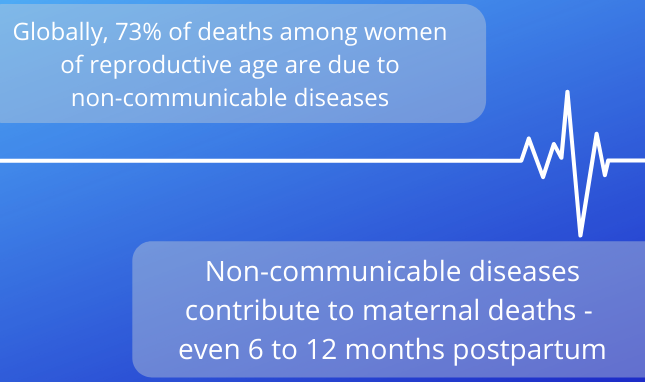 CODE BLUE: The Importance of Integrating Care for Maternal Health and Non-Communicable Disease