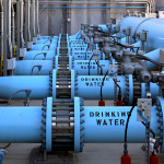 Water desalination pipes
