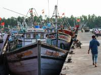 Mangalore,,India,-,November,1,,2019:,Life,Style,Of,Fishermen