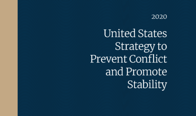 New U.S. Global Fragility Strategy Recognizes Environmental Issues as Key to Stability