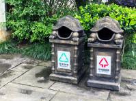 Chinese,Rubbish,Bin.,Recycling,In,China