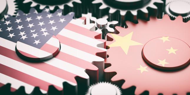 China,And,Us,Trade,War,Concept.,China,And,Us,Of