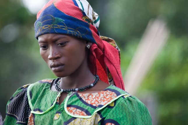 Women of Bompata Encampment, DRC. 11/03/07