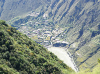 Ravine,Landform,With,Fold,Along,The,Yalong,River,In,Sichuan,