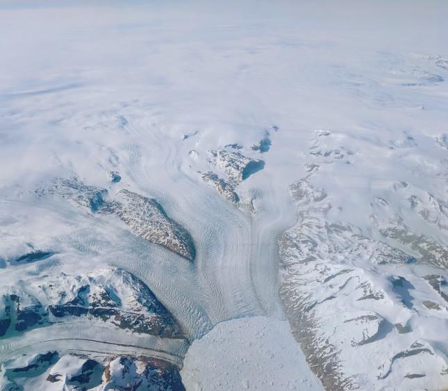 A Melting Glacier in Greenland