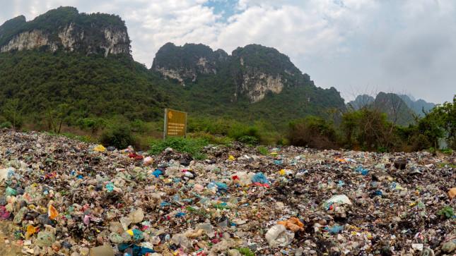Illegal,Rubbish,Dump,In,National,Park,In,North,Of,Vietnam
